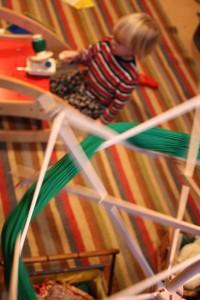 Spinning Green