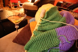 Martini and Some Knits