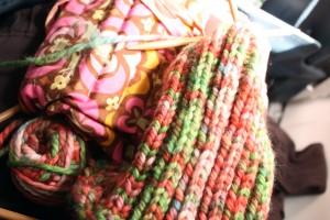 Lap Knitting