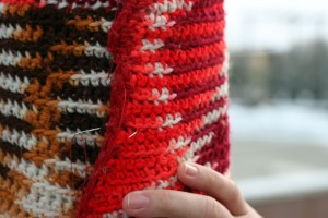 Yarn Bombing Higgins Mama Loves Knitting More