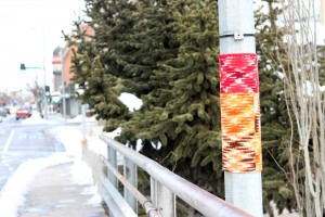 Yarn Bombing Higgins Mama Loves Knitting 3