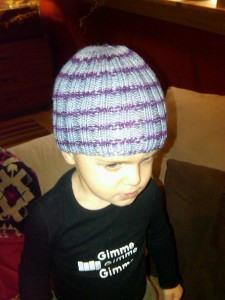 Ribbed Hat Stretch