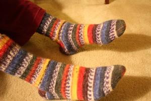 GA Jean's Socks