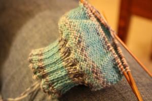 my first sock