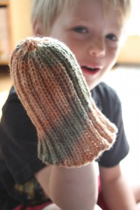 Unfolded Ribbed Hat