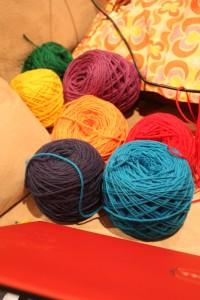 Colored Shepard's Wool