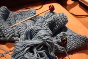 Blue Cascade Yarn
