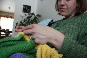 knitting auntie