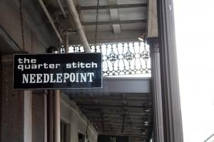 Quarter Stitch Sign